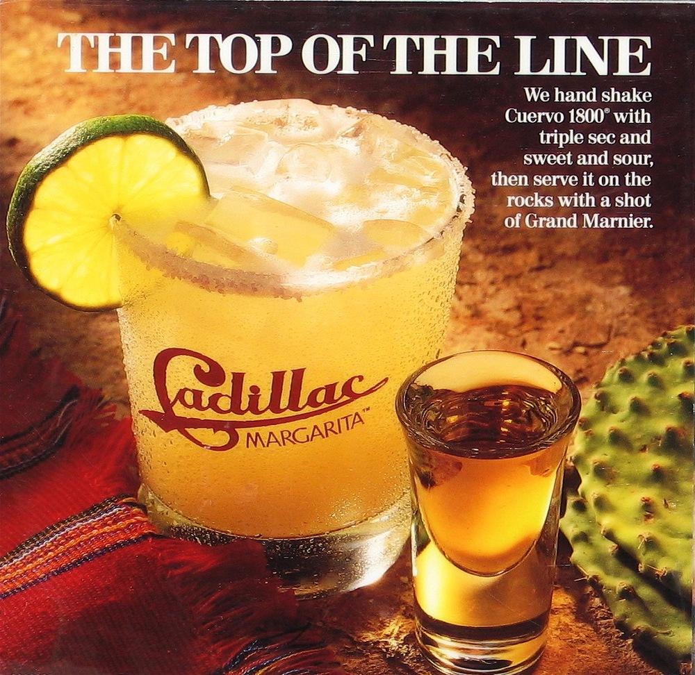 Cadillac Margarita El Torito Restaurants