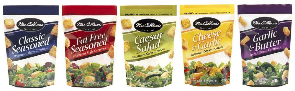 Mrs. Cubbison's Croutons Product Line