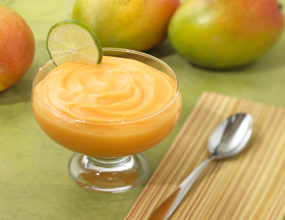 Orange Mango Pudding