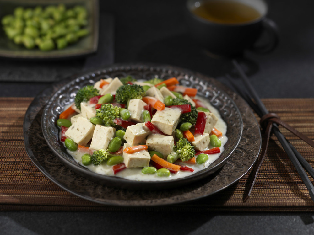 Tofu Medley with Vegetables