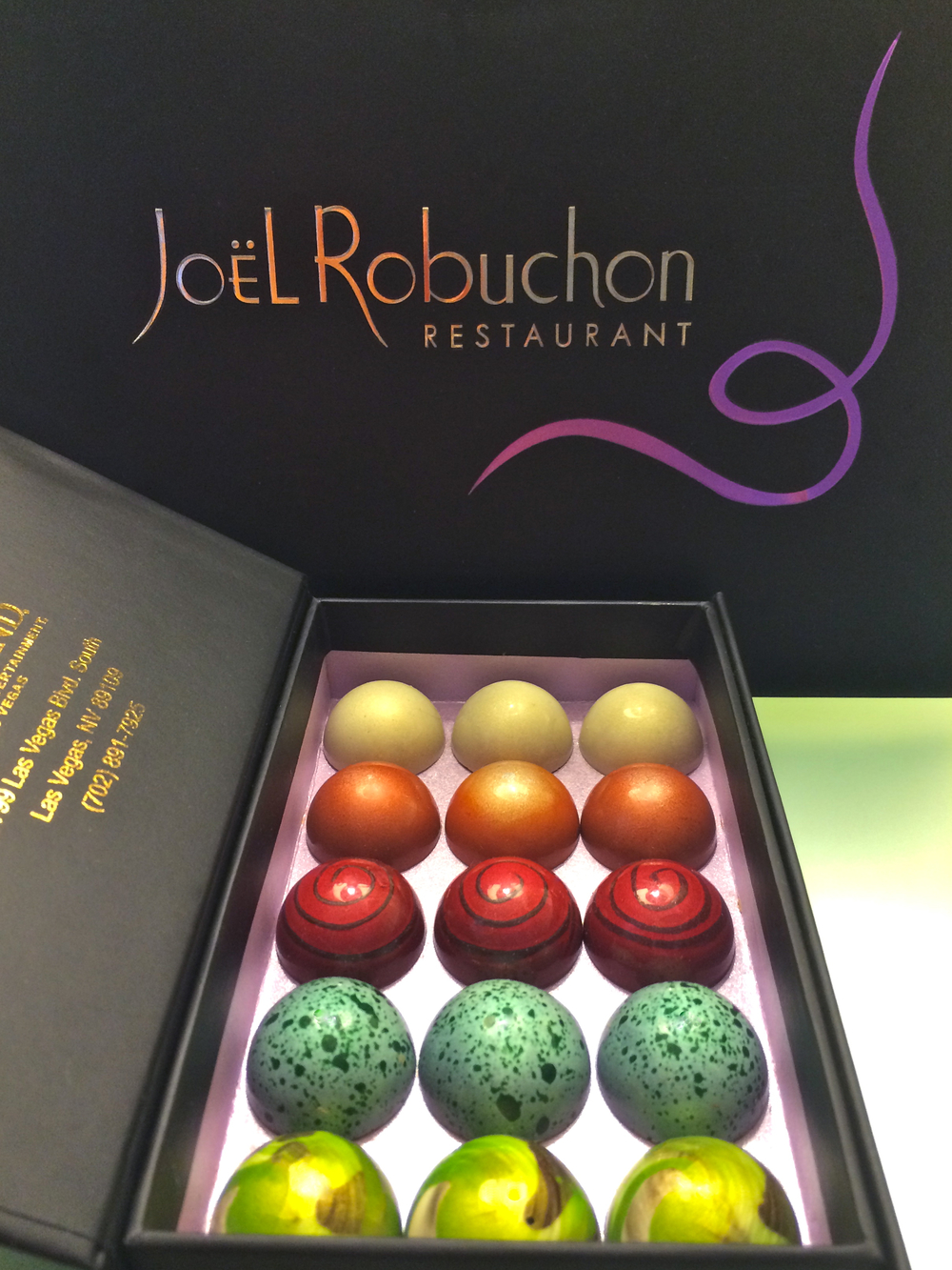 Joel Robuchon Restaurant Chocolates