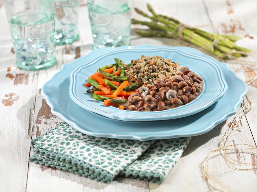 Black Eyed Peas & Veggie Beans