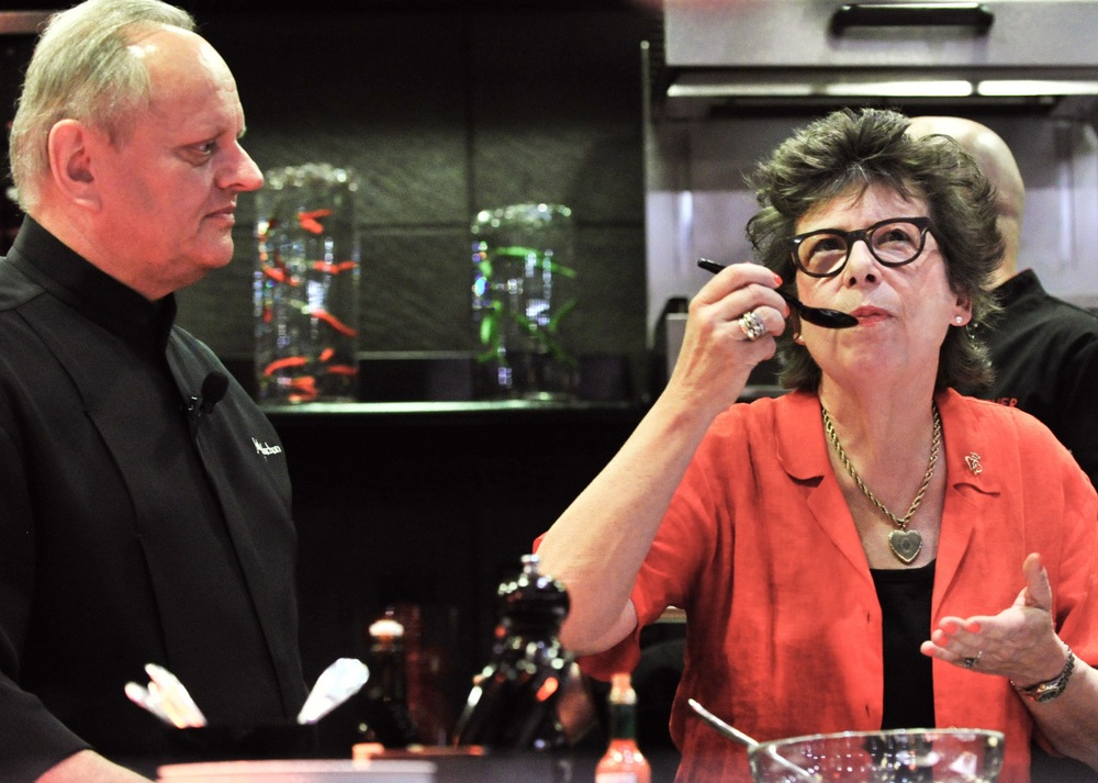 Alice M. Hart & Chef Joel Robuchon