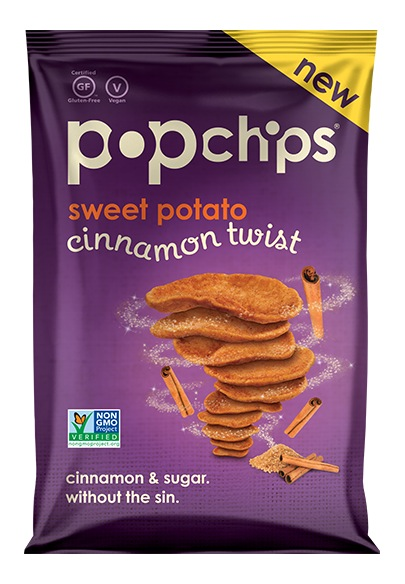 PopChips Sweet Potatoe Cinnamon