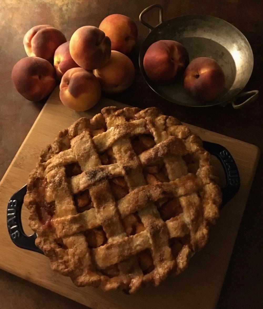 Peach Pie Still life