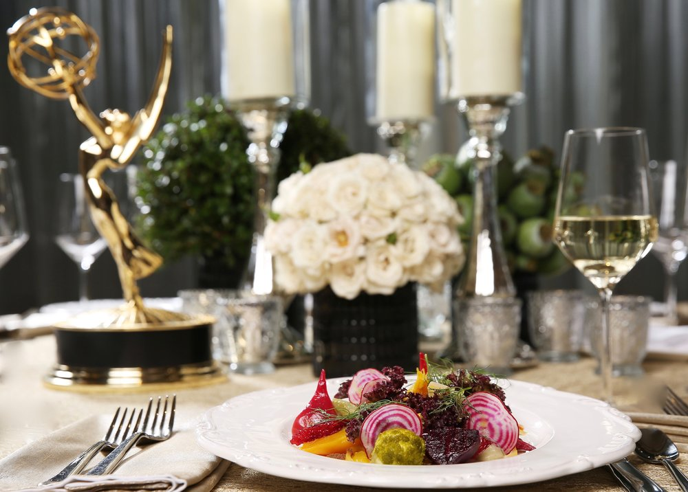 68th Primetime Emmy Awards Governor's Ball Menu