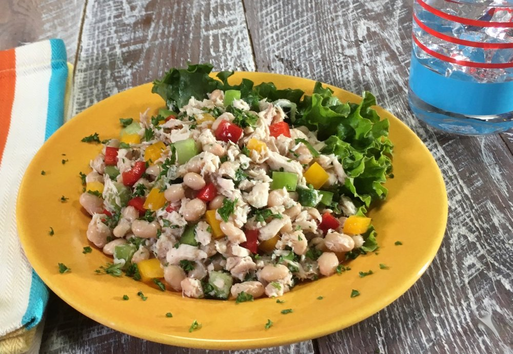 Herbalife® White Bean & Tuna Salad