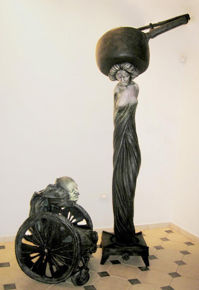 "La comparsa. Osmany Betancourt ""Lolo"". 1st Prize VIII Biennial of Ceramics Amelia Peláez, 2006.jpg"