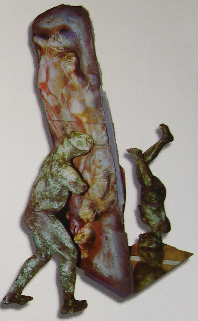 "Del Otro Lado. Osmany Betancourt ""Lolo"". Special Prize VI Biennial of Ceramics Amelia Peláez, 2001.jpg"