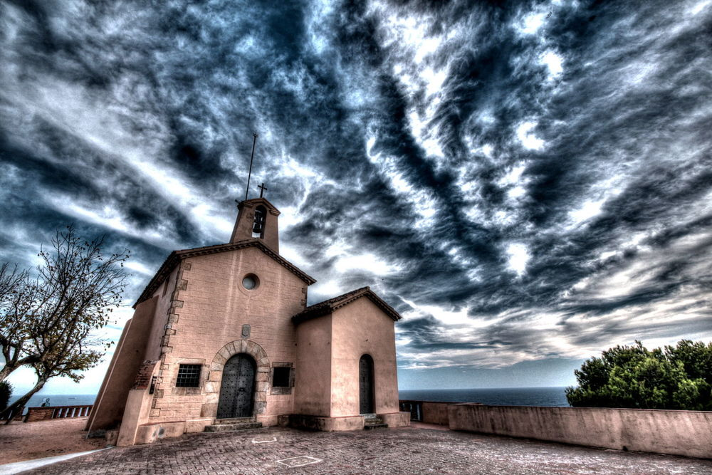 Church sunset costa brava sky clouds coast.jpg
