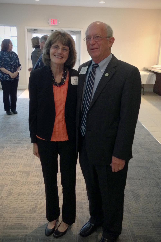 Rauch CEO Bettye Dunham & State Senator Ron Grooms