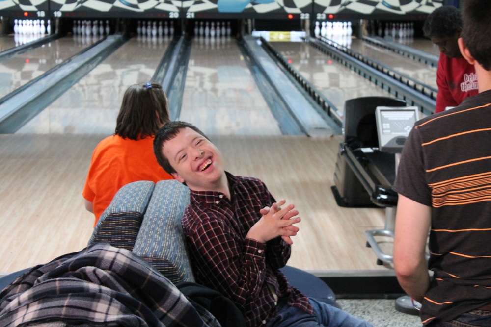 ACCESS participant Michael's favorite activity is bowling.