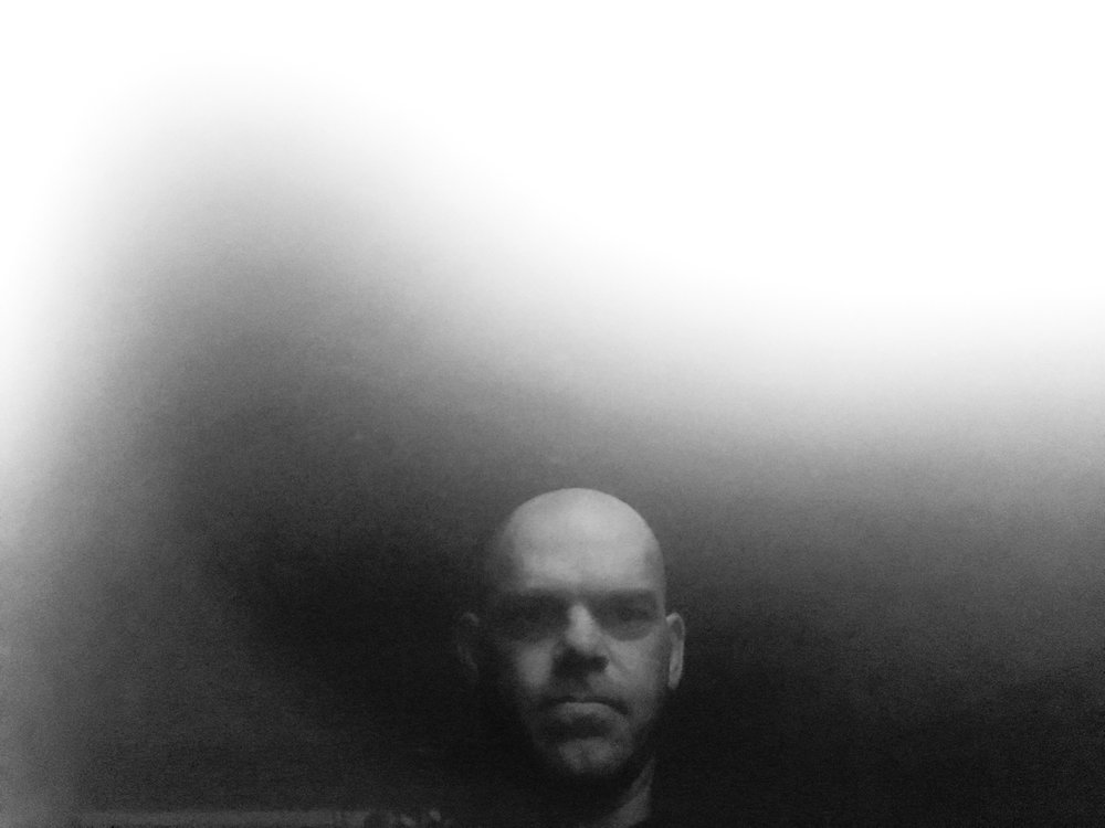 A self-portrait I took of my computer screen.  At the time, I felt it depicted my 'fogginess' well.