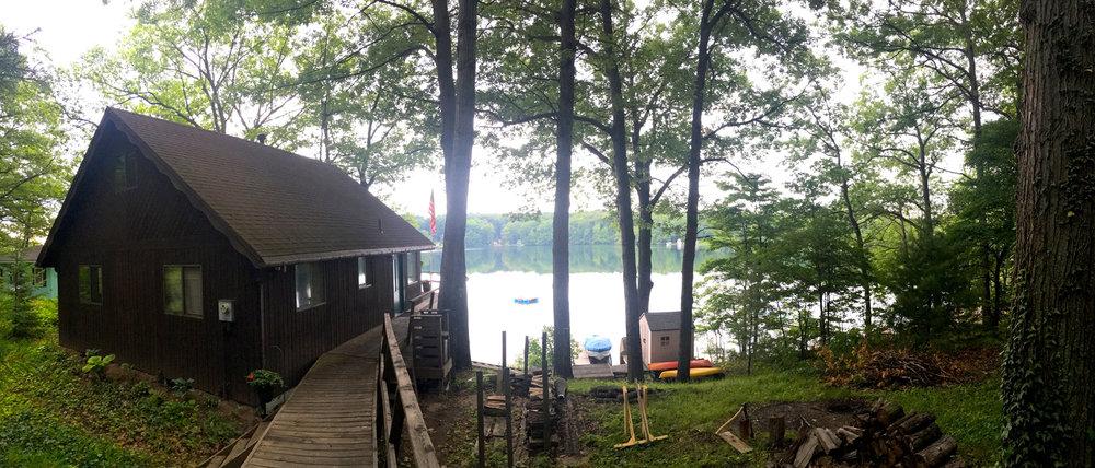 cottage life.