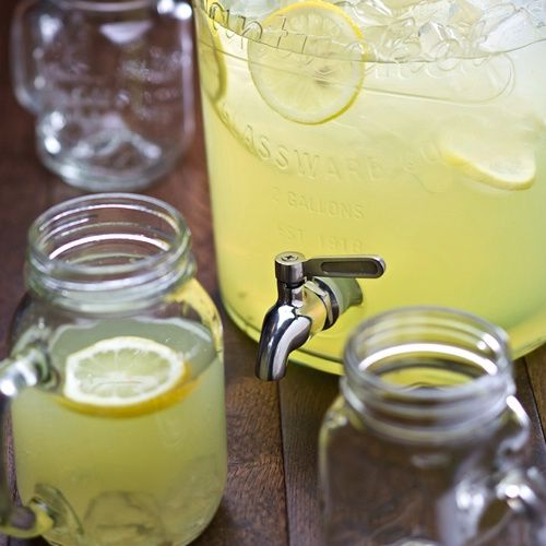 Nantucket Punch Barrel & Mason Jars