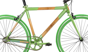 EcoForce 1 bamboo single speed bike