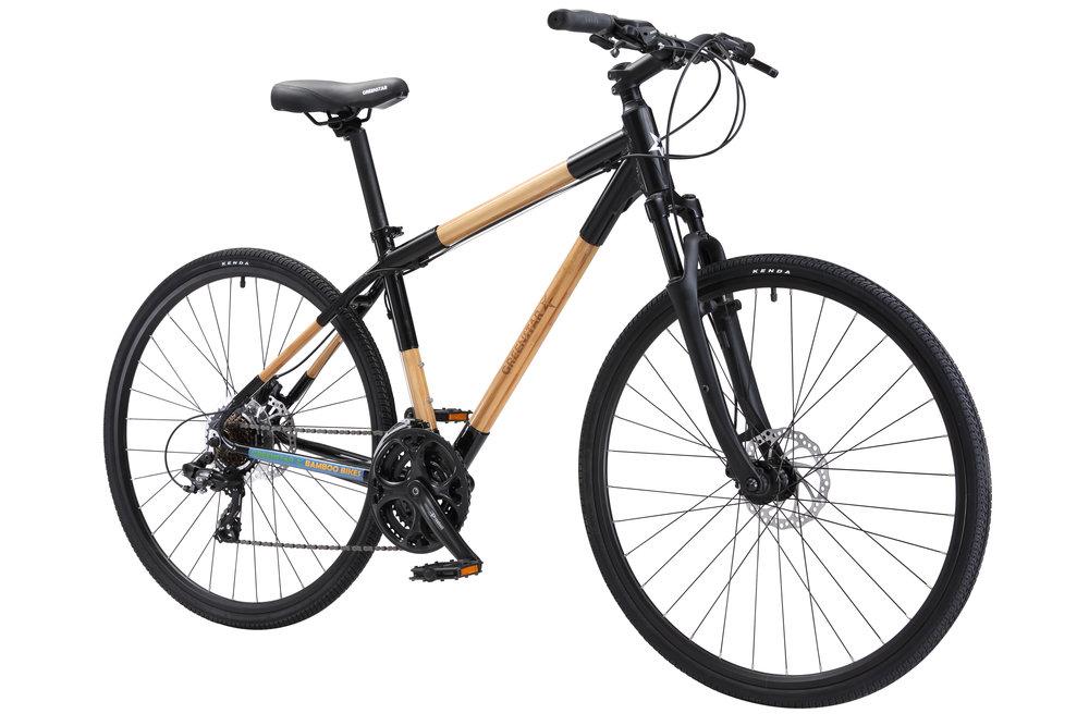 EcoCross Hybrid bamboo aluminum bike front 201708.jpg