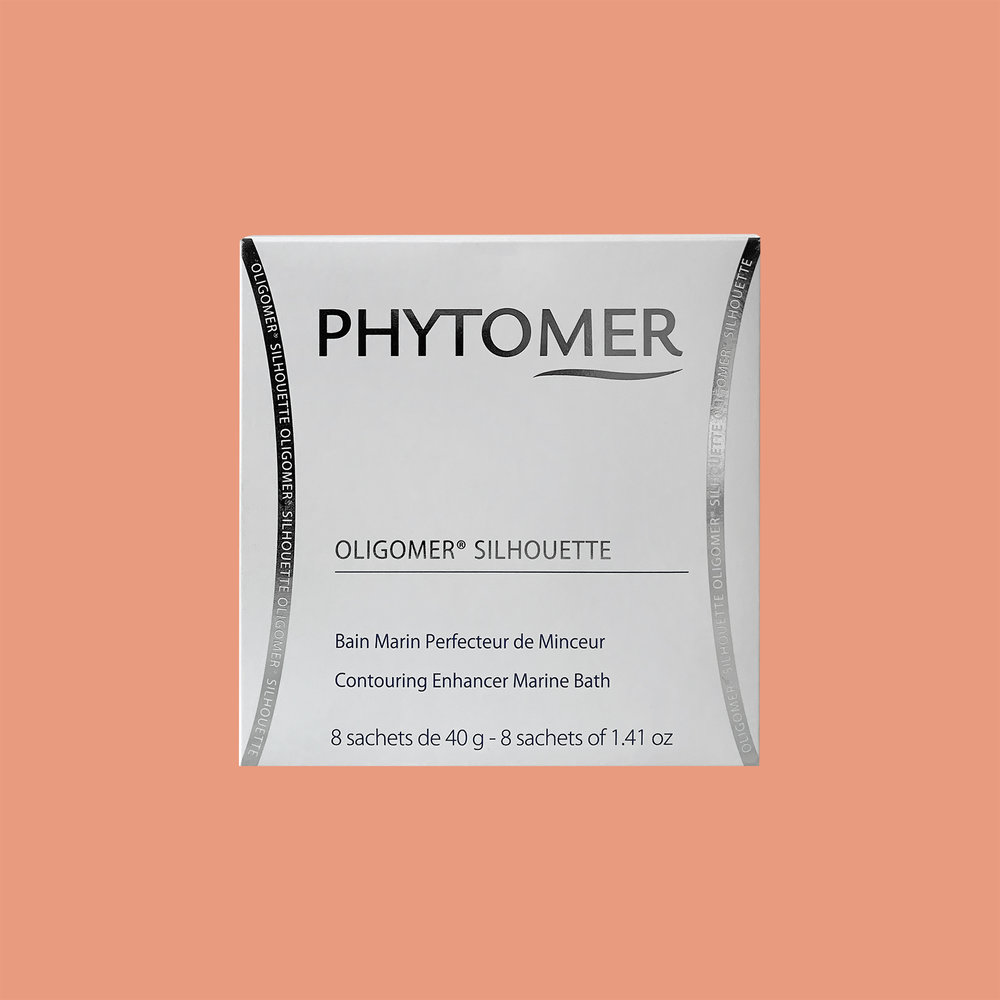 - A contour-enhancing bath powder.Powered by exclusive marine ingredients with exceptional slimming properties, Oligomer Silhouette boosts the contouring effectiveness of Phytomer contouring creams (applied after bathing) to resculpt your figure.