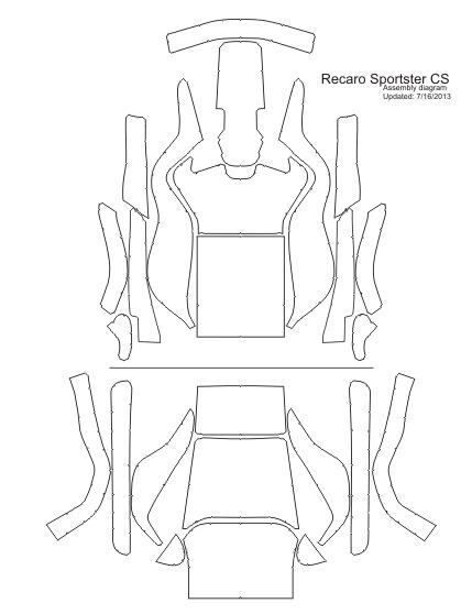 Recaro Sportster Cover Design