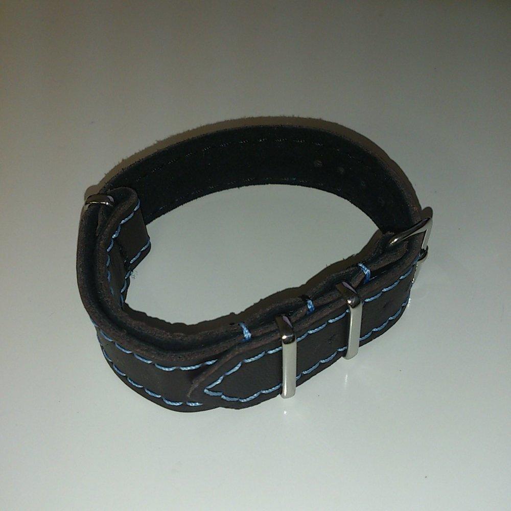Porsche Leather Watch Band