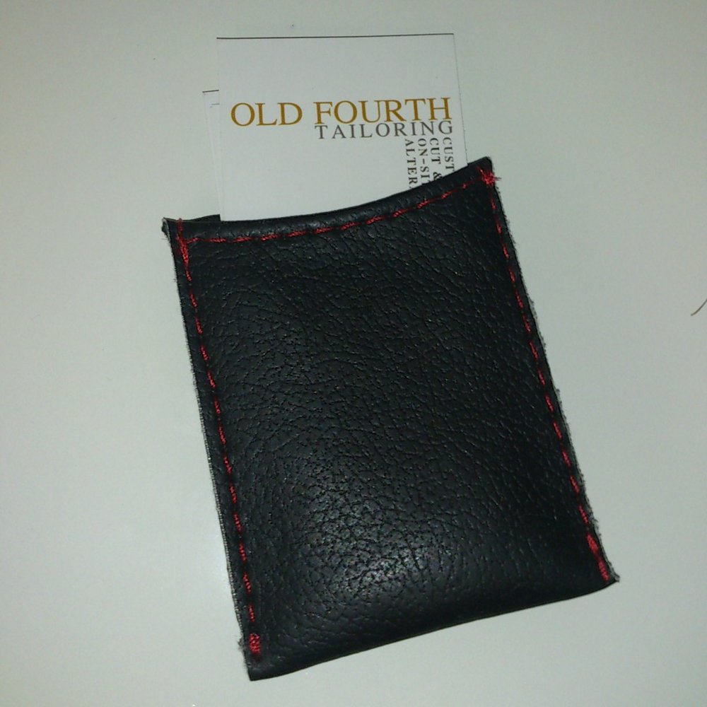 Ultra-Leather Business Card Holder