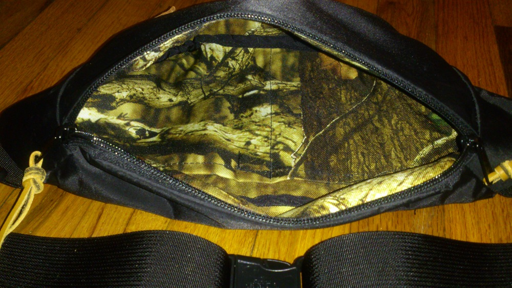 Small Shoulder/Hip Pack Camo Liner