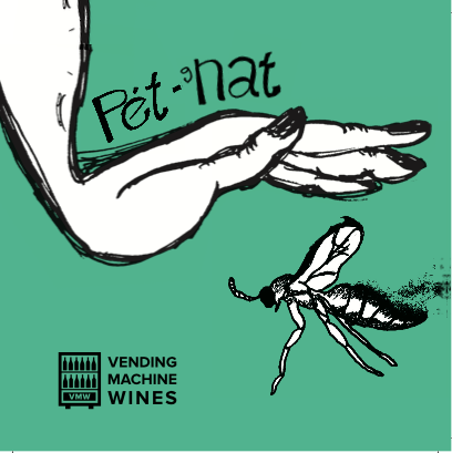 NEW RELEASE!  Pet gNat!  Made from Italian cult varietal Aleatico, this summer sparkler has everyone buzzing with delight!