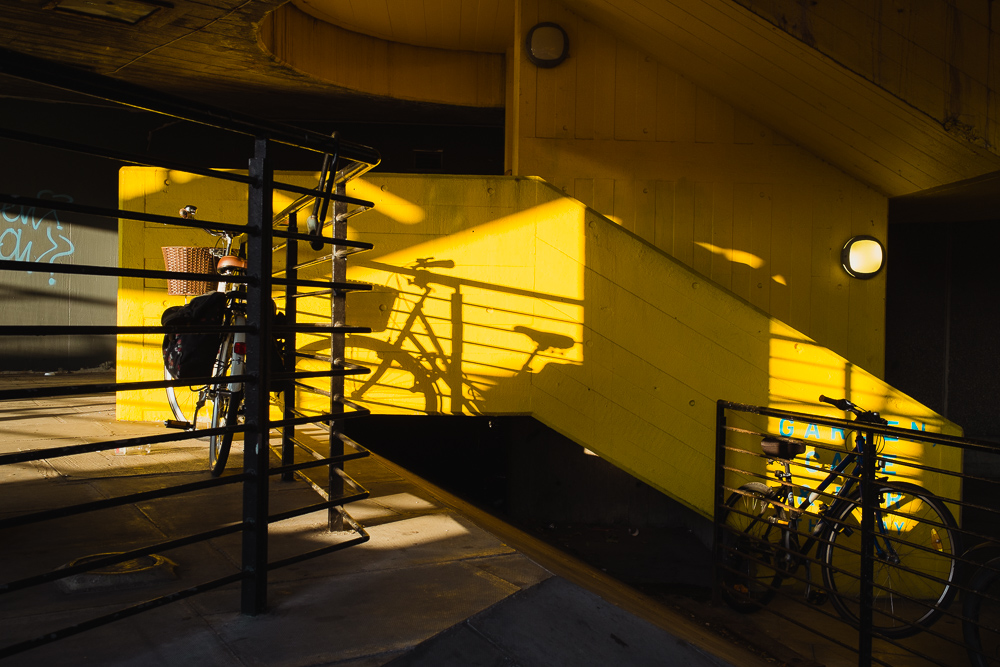 Bikes, Southbank © Andrew Newson