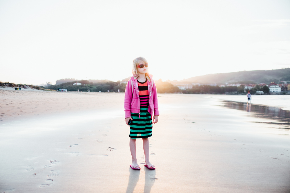 Myla on the beach © Andrew Newson