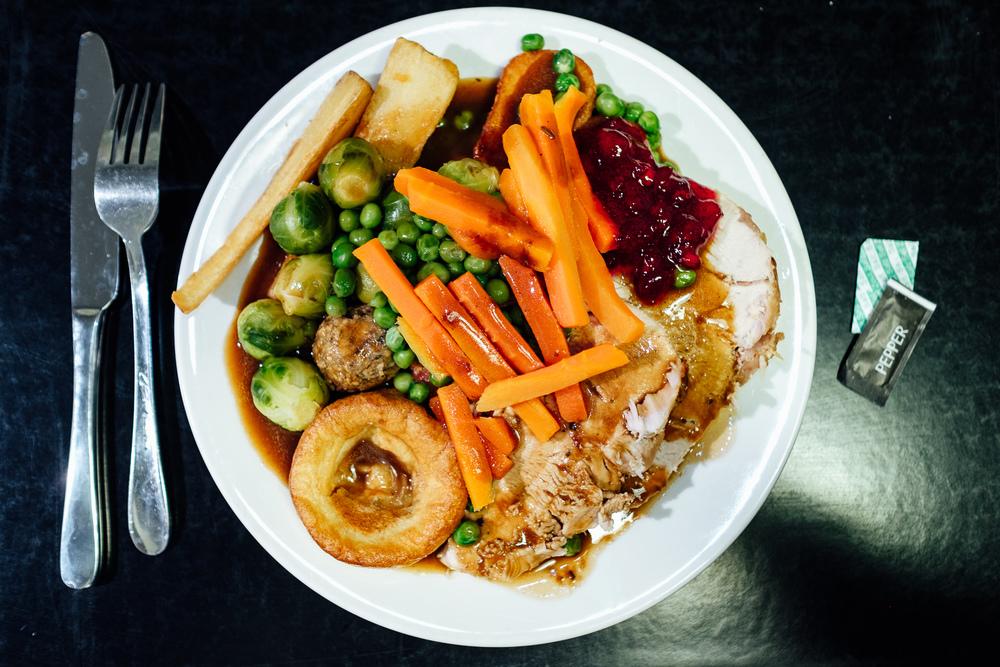 Budget Christmas Dinner No. 4 - BHS, Tunbridge Wells - © Andrew Newson