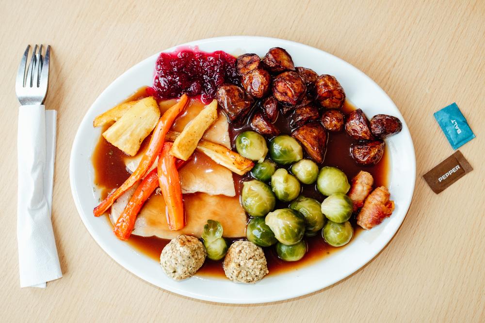 Budget Christmas Dinner No.5 - TJ Hughes, Eastbourne - © Andrew Newson