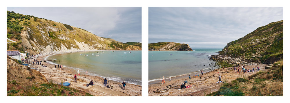 Lulworth Cove Diptych - © Andrew Newson