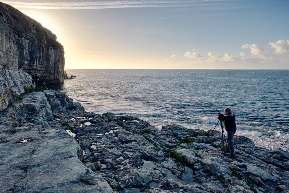 Caroline Shoots, Dancing Ledge, Dorset - © Andrew Newson