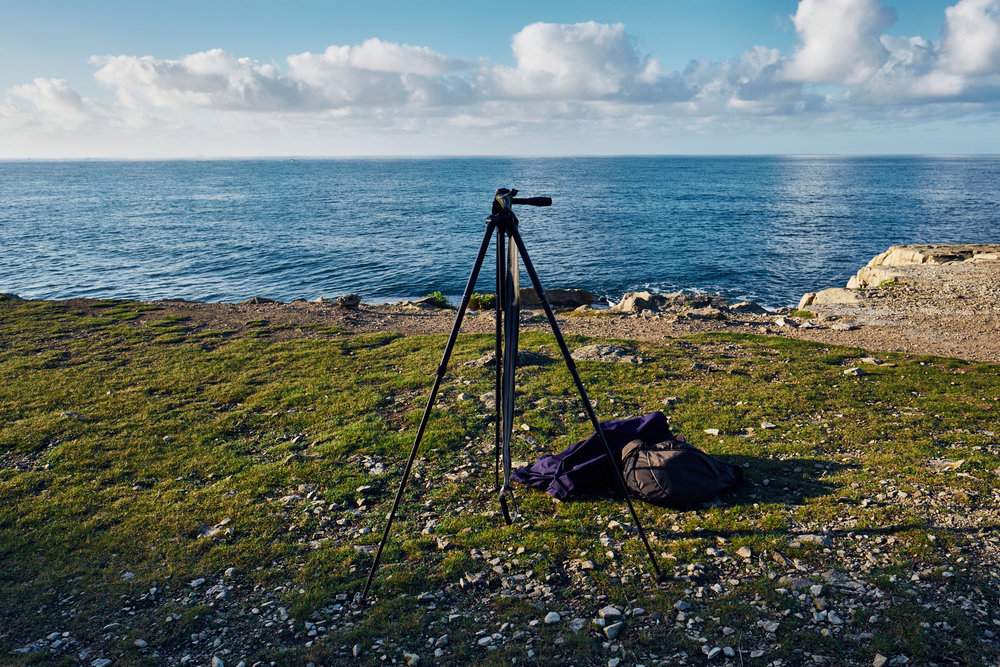 Rested Tripod - © Andrew Newson