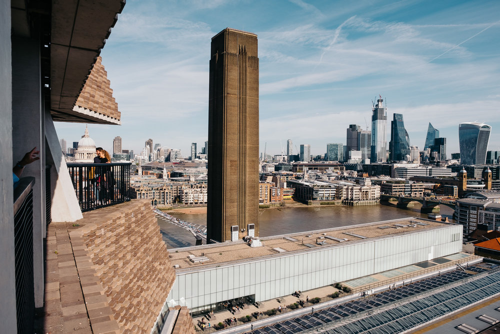 Viewing deck at Tate Modern © Andrew Newson