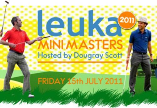 Leuka Mini Masters 2011 hosted by Dougray Scott