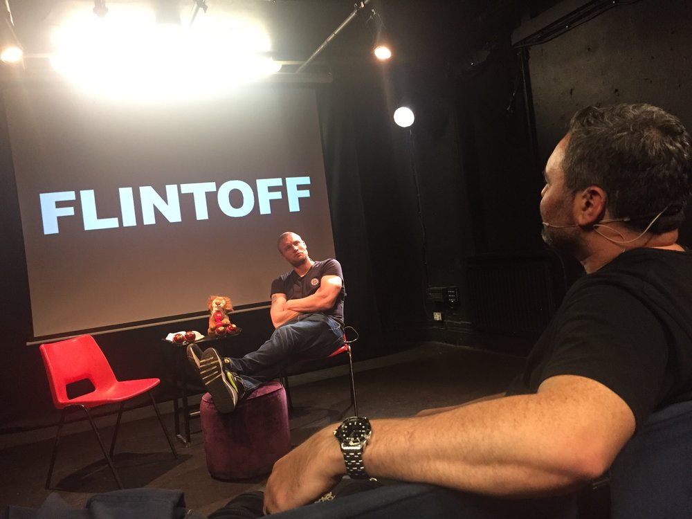 Freddie Flintoff, Clyde Holcroft, Harry Otto Brunjes