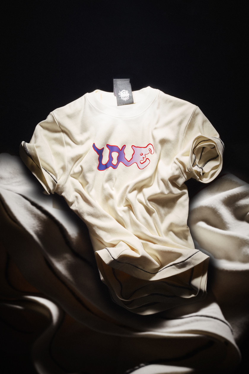 SBG T-shirt 006 (ecru) — $85