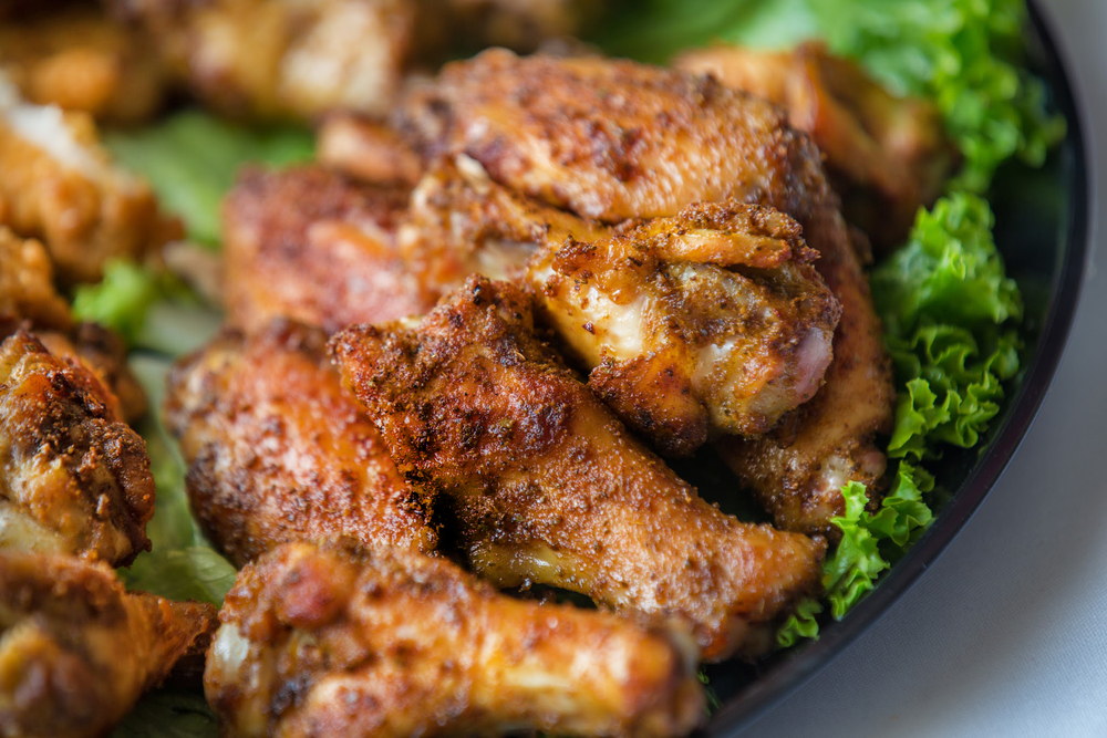 A family favorite for the last 20 years - roasted jumbo chicken wings with our spicy, signature Old Bay-based seasoning