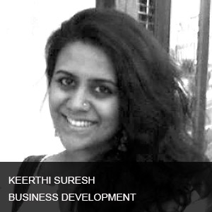 Keerthi has over 7 years of diverse production and managerial experience working in Advertising, TV & Film Industry. She has liaised directly with clients and managed creative teams to deliver strong, engaging content and established lasting business partnerships for brand accounts such as CocaCola, Sony, Nike etc.  Her responsibilities include overseeing the production and delivery of commercials for world-wide distribution.  As she transitions from active advertising production to business development, she will be joining the-Otherside to concentrate of strategic positioning and market placement for their high-end digital content.  She will be directly handling client relationships as well as further positioning the firm to highlight the quality of their content.