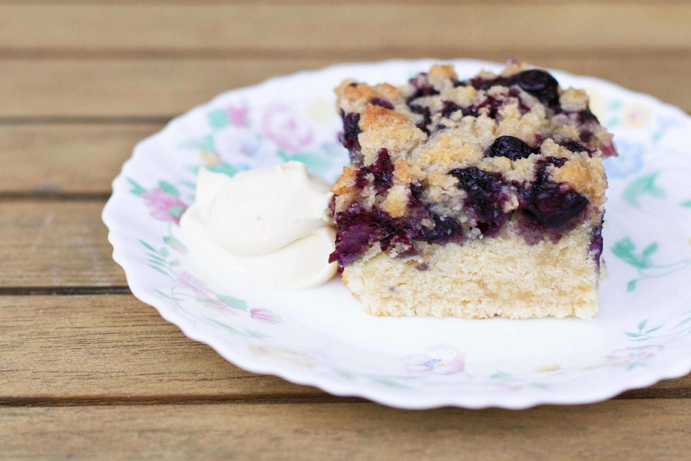 Blueberry Crumble Crisp
