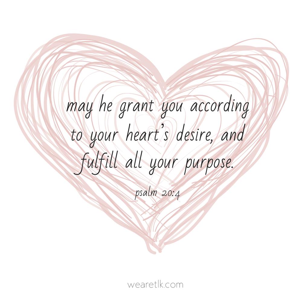 purpose pink heart the lovingkind
