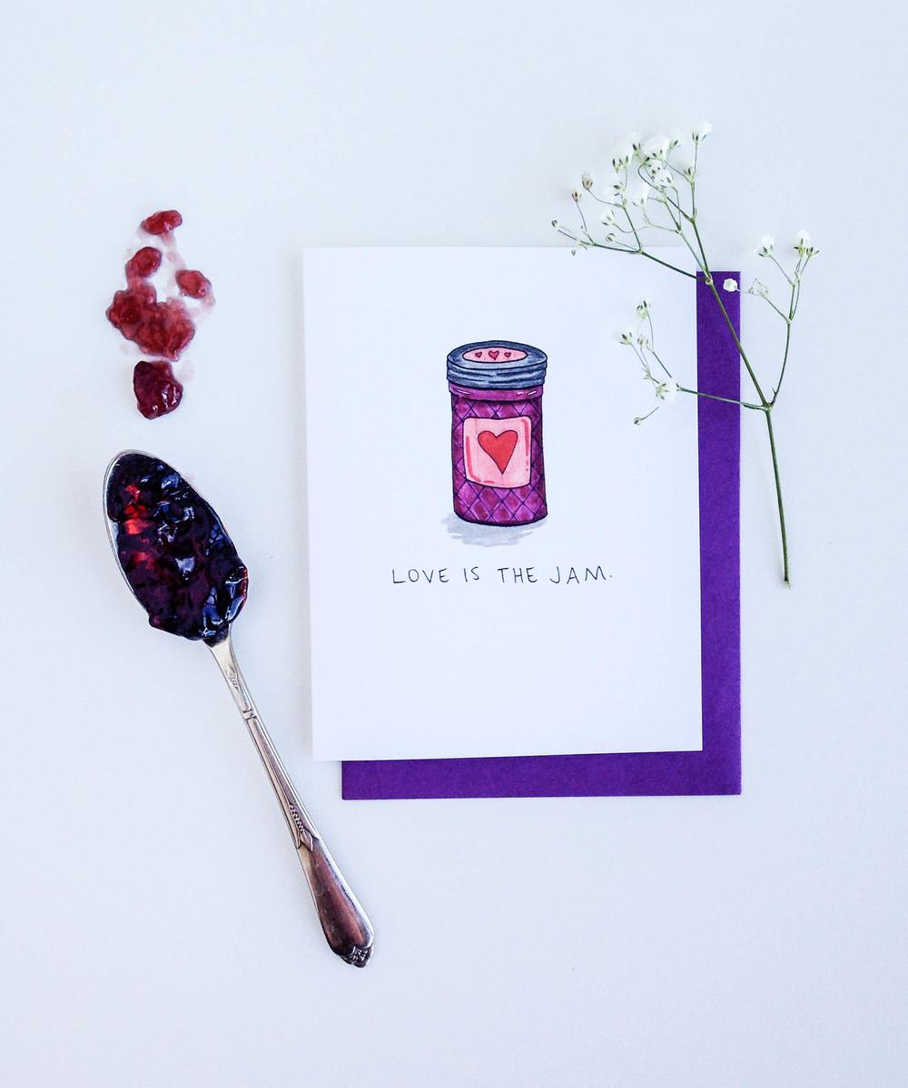 Love Jam Card