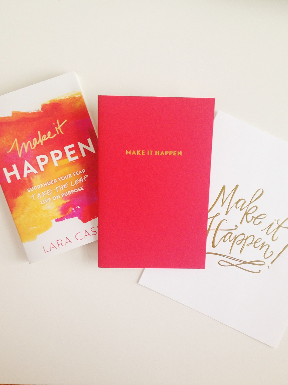 Make It Happen Book ,  Make It Happen notebook ,  Make It Happen print
