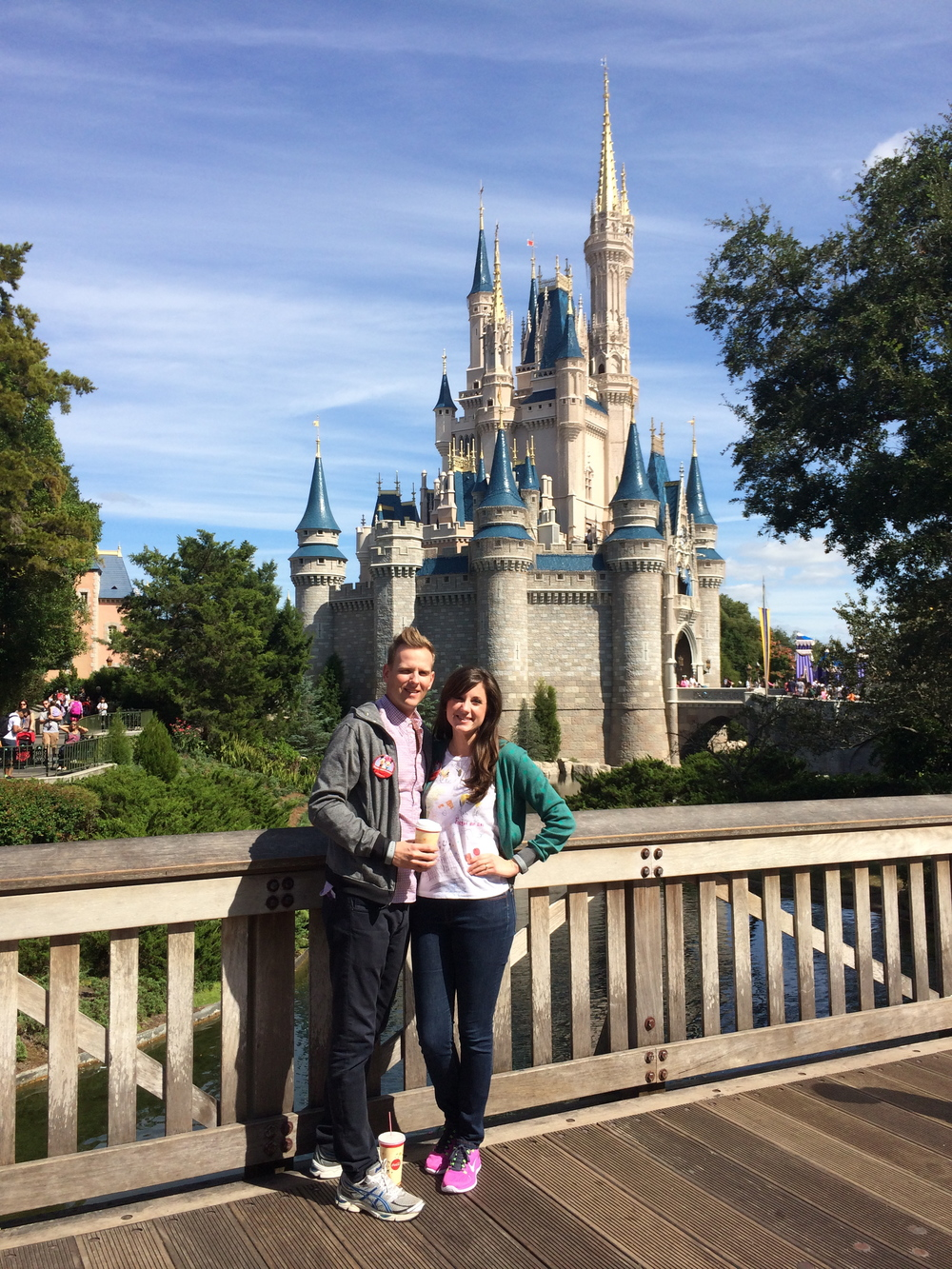 Enjoying the Magic Kingdom!