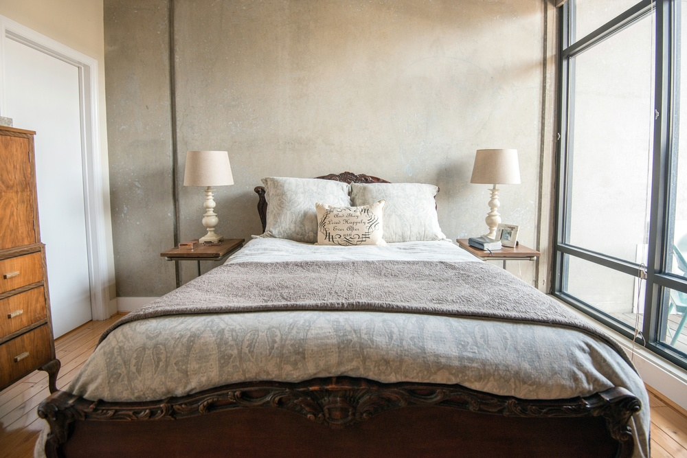We chose  Restoration Hardware  to register for bed and bath linens because it was the place where we found our personal styles collided; we both loved this store. We have been so happy with the quality of everything we received from RH and enjoy these pieces so much! Photo by  Jacob Blount