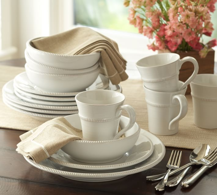 Gabriella Dinnerware Photo from Pottery Barn