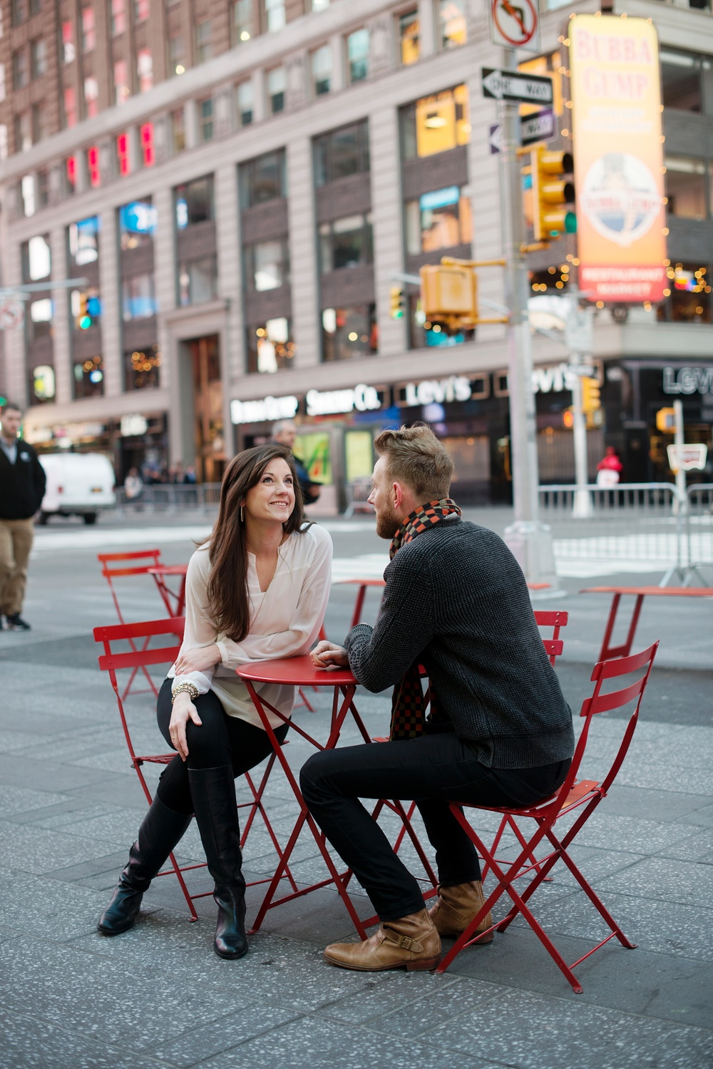 Anniversary photos in NYC! Photo by Rachel Coffey Photography