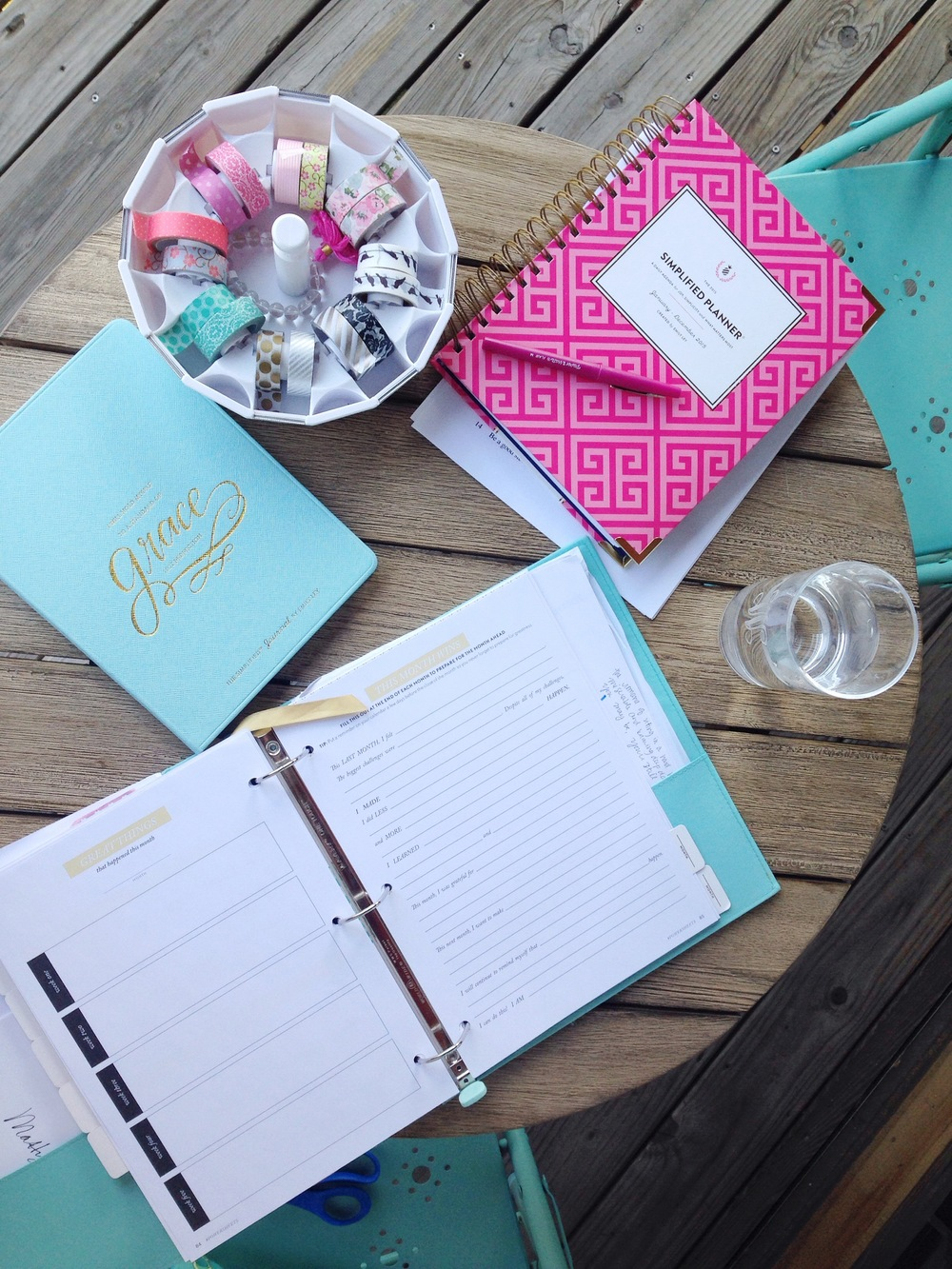 I am so grateful for these tools that have helped me live with purpose and intention. If you're looking for tools to help you do the same, I highly recommend PowerSheets and the Simplified Planner. And just like anything, they work when you do!