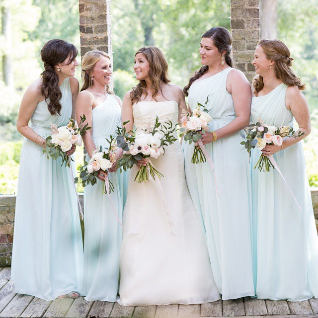 I got to celebrate with my precious friend Christy as a bridesmaid in her wedding in June. It was such a sweet day! Photo by Daisy Moffatt Photography.